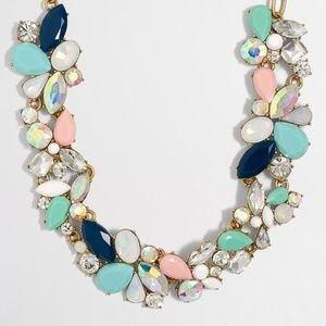 J Crew Mixed stones Gem necklace